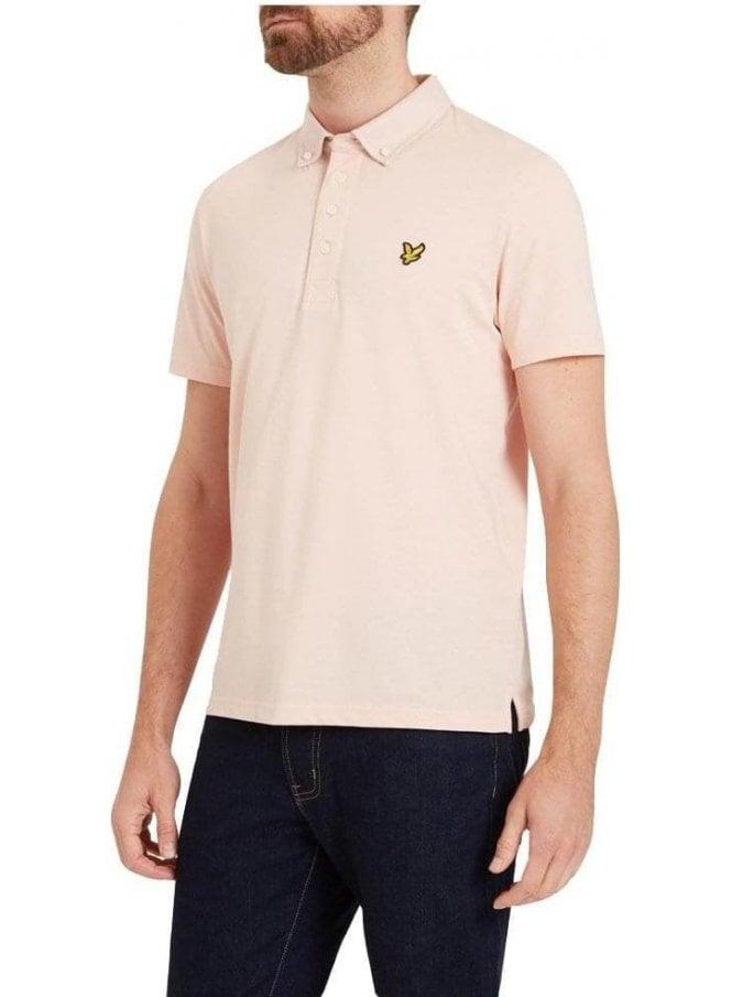LYLE & SCOTT Woven Collar Shirt Dusty Pink