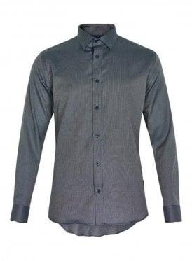 Trostol Fleck Design Print Long Sleeved Legion Blue