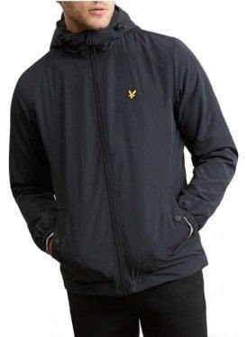 Microfleece Lined Zip Through Jacket True Black