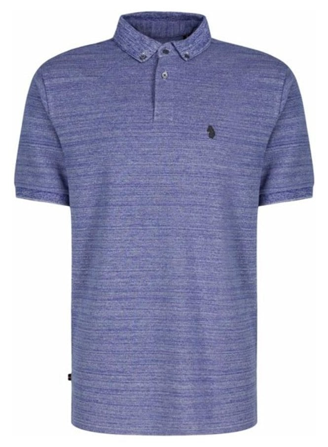 LUKE My Pals Collared Polo Tshirt Lux Royal