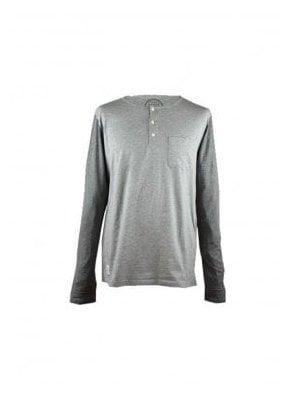 Native Youth Contrast Grey Sweatshirt