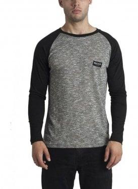 Nep Raglan Long Sleeved Tshirt Grey