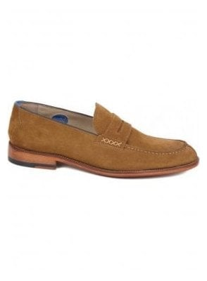 Chatburn Loafer Suede Shoe Snuff