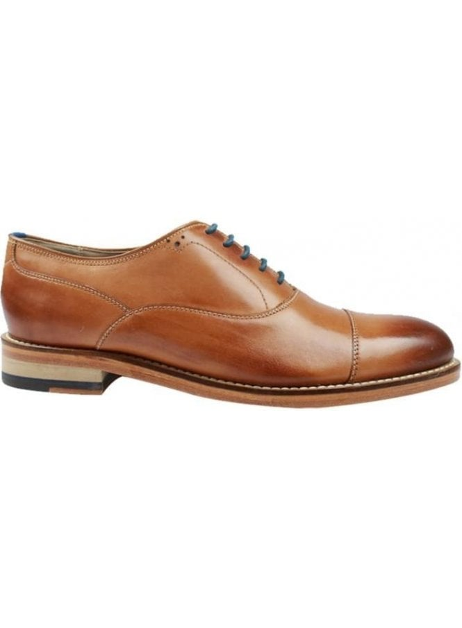 OLIVER SWEENEY London Lupton Oxford Leather Shoe Tan