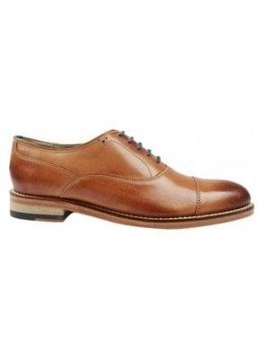 London Lupton Oxford Leather Shoe Tan