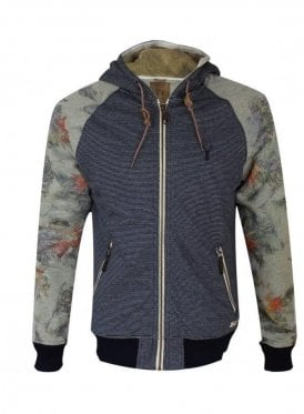 Admire Stripe Sweater hoody Navy (spring & summer 15)