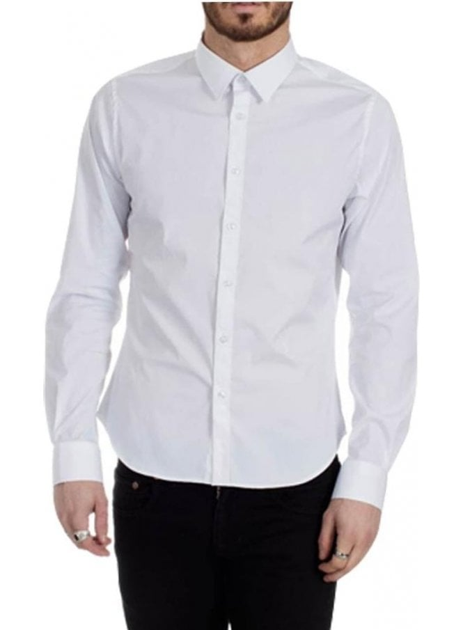 PEARLY KING Exceed Long Sleeve Shirt White