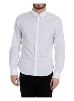 Exceed Long Sleeve Shirt White
