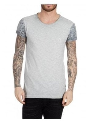 Soar Crew Neck Tshirt Light Grey
