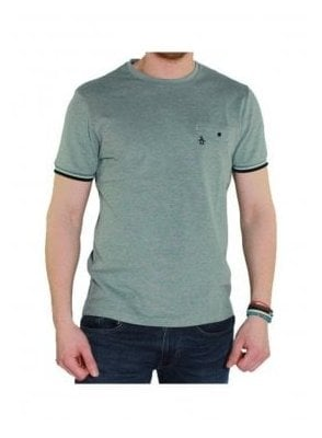 Birdseye S/s T Shirt Mint Green