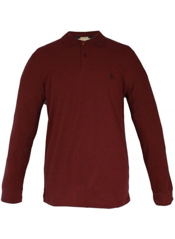 PENGUIN Slim Fit Daddy Polo Tawny Port