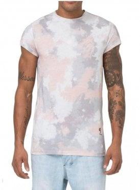 Camo Tie Dye Tshirt Pink