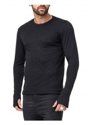 Guise Fine Knit Jumper Black