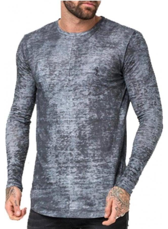 RELIGION Lost Long Sleeve T Shirt Steel