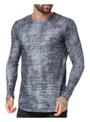 Lost Long Sleeve T Shirt Steel