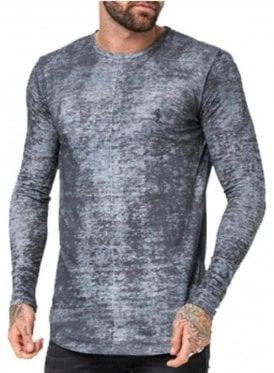 Lost Long Sleeve T Shirt Steel