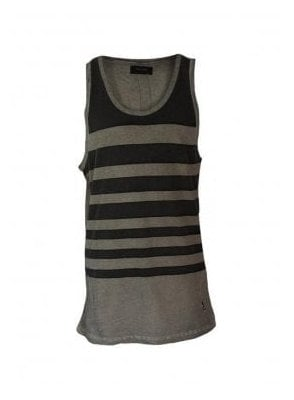Oil Wash Stripe Vest Rock Wash (spring & summer 15)