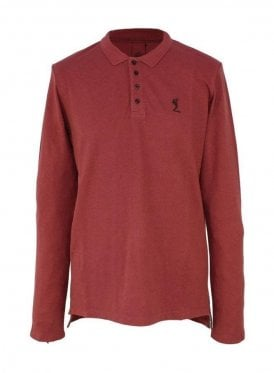 Religion Plain Ls Polo Cardinal