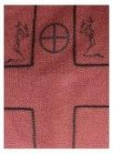 RELIGION Plain Ls Polo Cardinal