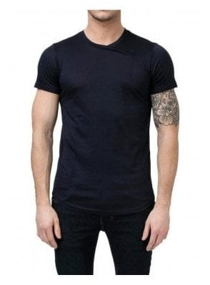 Regular Fit Criss Tee Navy