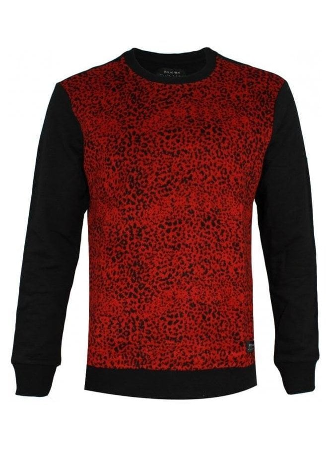 RELIGION Sigma Jumper Black/red (AW15)