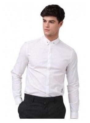 Skull Shirt White