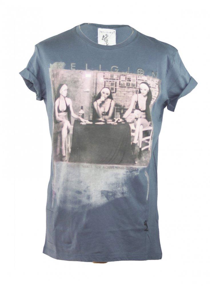 religion religion strip poker t shirt religion from ghia menswear uk. Black Bedroom Furniture Sets. Home Design Ideas