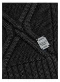 REPLAY Crew Neck Diamond Design Chunky Knitwear Ju 098