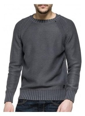 Crew Neck Knitwear Jumper 097