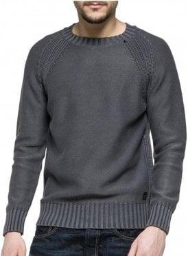 Crew Neck Knitwear Jumper 097