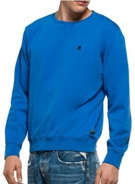 Crew Neck Sweater Jumper Royal Blue