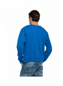 REPLAY Crew Neck Sweater Jumper Royal Blue