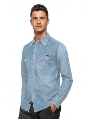 Denim Shirt Light Denim