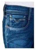 REPLAY Hyperflex Anbass Regular Slim Fit Jean (Blue Denim) Surf Blue Edition