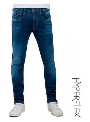 Hyperflex Anbass Regular Slim Fit Jean (Blue Denim) Surf Blue Edition