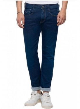Hyperflex Anbass Regular Slim Fit Jeans (Dark Blue)