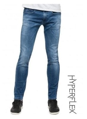 Hyperflex Anbass Regular Slim Fit Jeans (Denim)