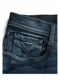 REPLAY Hyperflex Anbass Regular Slim Fit Jeans (Medium Dark)