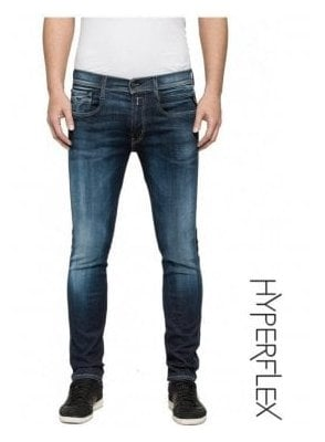 Hyperflex Anbass Regular Slim Fit Jeans (Medium Dark)