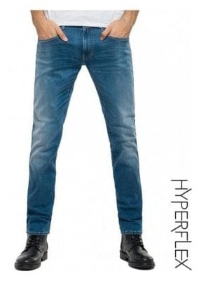 Hyperflex Anbass Regular Slim Fit Jeans (Medium Wash)