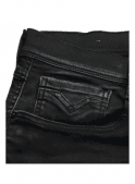 REPLAY Hyperflex Anbass Regular Slim Fit Jeans (Washed Black)