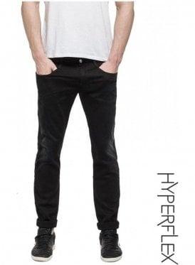 Hyperflex Anbass Regular Slim Fit Jeans (Washed Black)