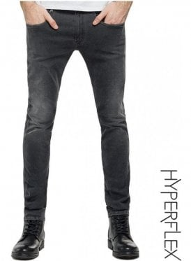 Hyperflex Anbass Regular Slim Fit Jeans (White Weft Edition Grey)