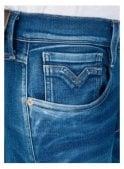 REPLAY Hyperflex Slim fit Anbass Jeans (Blue Denim)