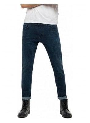 Jondrill Skinny Jeans - Dark Blue Denim