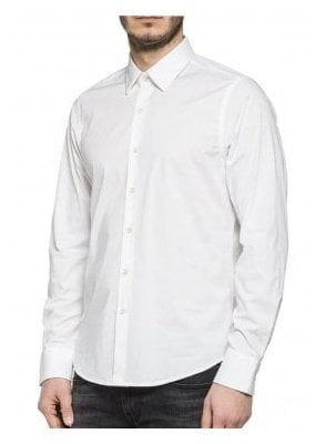 Long Sleeved Shirt White