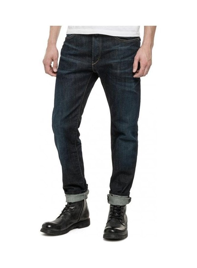 REPLAY Rbj.901 Limited Edition Slim Tapered Jean Fort Denim MA901.000.525