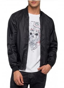 Reversible Bomber Jacket Black