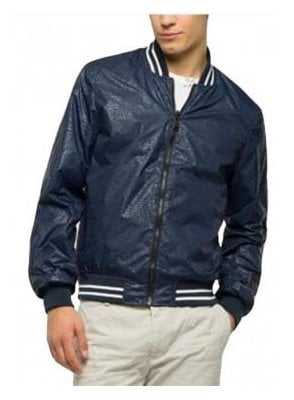 Reversible Bomber Jacket Navy