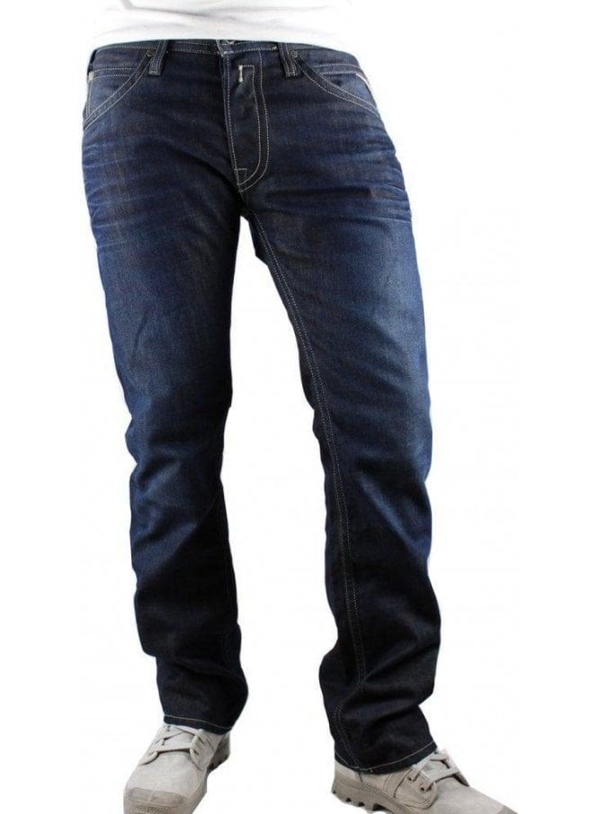 REPLAY Tillbor Blue Jeans Soccer Fit Tapered